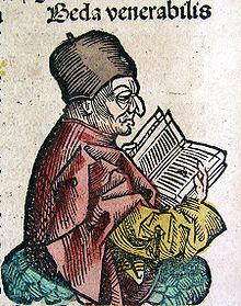 the Venerable Bede, Nuremburg Chronicle